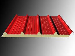 Refractory roof sandwich panel